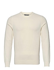 Andy Structure C-Neck Sweater - CLOUD WHITE