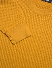 J. Lindeberg - Andy Structure C-Neck Sweater - basic-strickmode - golden orange - 6