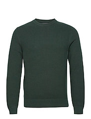 Andy Structure C-Neck Sweater - HUNTER GREEN