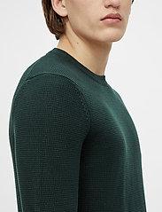 J. Lindeberg - Andy Structure C-Neck Sweater - basic-strickmode - hunter green - 5