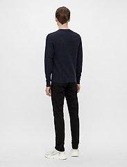 J. Lindeberg - Andy Structure C-Neck Sweater - basic-strickmode - jl navy - 3