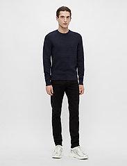 J. Lindeberg - Andy Structure C-Neck Sweater - basic-strickmode - jl navy - 4