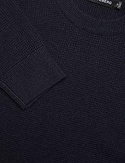 J. Lindeberg - Andy Structure C-Neck Sweater - basic-strickmode - jl navy - 5