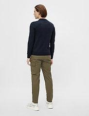 J. Lindeberg - Rowan Cotton Silk LS Polo - langärmelig - jl navy - 3