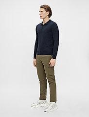 J. Lindeberg - Rowan Cotton Silk LS Polo - langärmelig - jl navy - 4