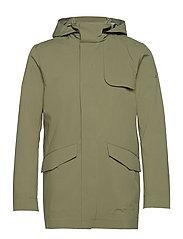 Alph Mech Stretch jacket - LAKE GREEN