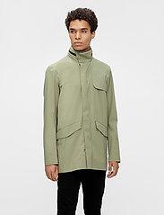 J. Lindeberg - Alph Mech Stretch jacket - leichte jacken - lake green - 0
