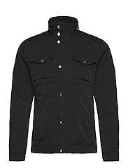 Bailey Poly Stretch jacket - BLACK