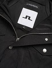 J. Lindeberg - Bailey Poly Stretch jacket - leichte jacken - black - 4