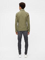 J. Lindeberg - Bailey Poly Stretch jacket - leichte jacken - lake green - 3