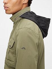 J. Lindeberg - Bailey Poly Stretch jacket - leichte jacken - lake green - 6