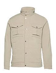 Bailey Poly Stretch jacket - SAND GREY
