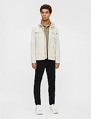 J. Lindeberg - Bailey Poly Stretch jacket - leichte jacken - sand grey - 6