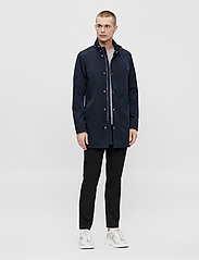 J. Lindeberg - Terry Poly Stretch coat - manteaux legères - jl navy - 3