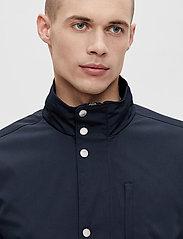 J. Lindeberg - Terry Poly Stretch coat - manteaux legères - jl navy - 5