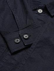 J. Lindeberg - Eric Cotton Linen Jacket - oberteile - jl navy - 5