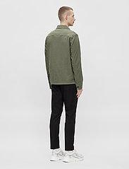 J. Lindeberg - Eric Cotton Linen Jacket - oberteile - lake green - 3