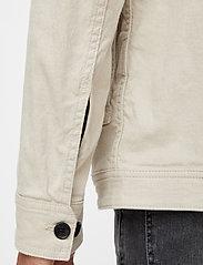 J. Lindeberg - Eric Cotton Linen Jacket - oberteile - sand grey - 6