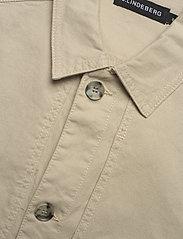 J. Lindeberg - Eric Cotton Linen Jacket - oberteile - sand grey - 7