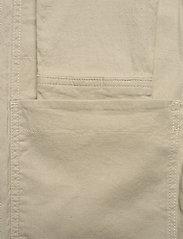 J. Lindeberg - Eric Cotton Linen Jacket - oberteile - sand grey - 8