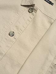 J. Lindeberg - Eric Cotton Linen Jacket - oberteile - sand grey - 9