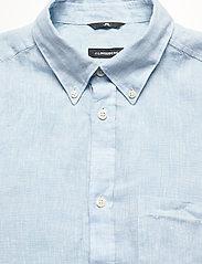 J. Lindeberg - Daniel BD-Linen Melange - basic-hemden - dusk blue - 2