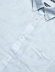 J. Lindeberg - Daniel BD-Linen Melange - basic-hemden - dusk blue - 3