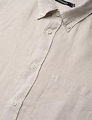 J. Lindeberg - Fredrik BD-Clean Linen - chemises basiques - cloud grey - 3