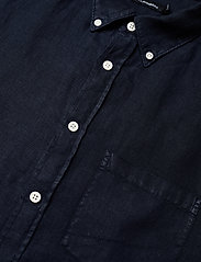 J. Lindeberg - Fredrik BD-Clean Linen - basic-hemden - jl navy - 3