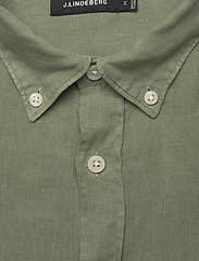J. Lindeberg - Fredrik BD-Clean Linen - basic-hemden - sage green - 2