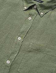 J. Lindeberg - Fredrik BD-Clean Linen - basic-hemden - sage green - 3
