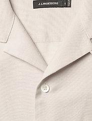 J. Lindeberg - Daniel Resort SS-Silk Speckle - chemises basiques - cloud grey - 3