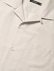 J. Lindeberg - Daniel Resort SS-Silk Speckle - chemises basiques - cloud grey - 4