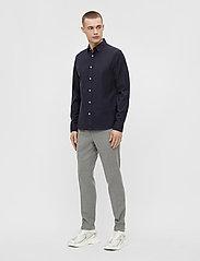 J. Lindeberg - Stretch Oxford Slim Shirt - basic-hemden - jl navy - 6