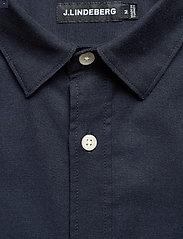 J. Lindeberg - Stretch Oxford Slim Shirt - basic-hemden - jl navy - 3