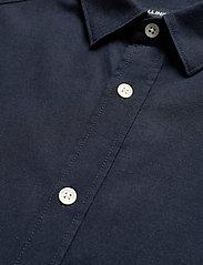 J. Lindeberg - Stretch Oxford Slim Shirt - basic-hemden - jl navy - 4