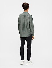 J. Lindeberg - Stretch Oxford Slim Shirt - basic-hemden - lake green - 5