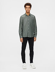 J. Lindeberg - Stretch Oxford Slim Shirt - basic-hemden - lake green - 6