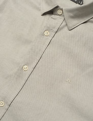 J. Lindeberg - Stretch Oxford Slim Shirt - basic-hemden - lake green - 4