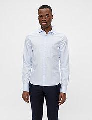 J. Lindeberg - Non-iron Twill Superslim Shirt - basic-hemden - skyrim - 0