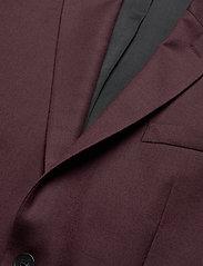 J. Lindeberg - Hopper Soft-Re Flannel - single breasted blazers - dark mocca - 2
