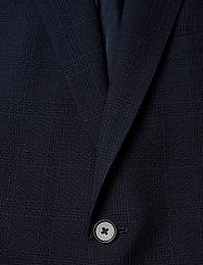J. Lindeberg - Hopper Soft-Seersucker - yksiriviset bleiserit - mid blue - 2