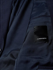 J. Lindeberg - Hopper Soft-Seersucker - yksiriviset bleiserit - mid blue - 4