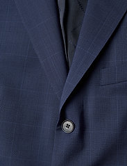 J. Lindeberg - Ben Soft-Voyager Wool - single breasted blazers - mid blue - 2