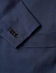 J. Lindeberg - Ben Soft-Voyager Wool - single breasted blazers - mid blue - 3
