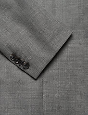 J. Lindeberg - Hopper PP UNC-Hopsack Wool - single breasted blazers - stone grey - 2