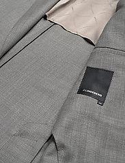 J. Lindeberg - Hopper PP UNC-Hopsack Wool - single breasted blazers - stone grey - 4