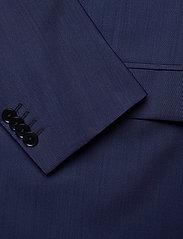 J. Lindeberg - Hopper U Comfort Wool Blazer - single breasted blazers - midnight blue - 4