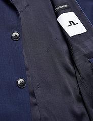 J. Lindeberg - Hopper U Comfort Wool Blazer - single breasted blazers - midnight blue - 6