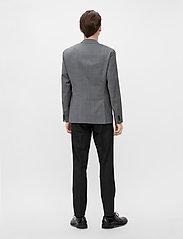 J. Lindeberg - Hopper U Comfort Wool Blazer - single breasted blazers - stone grey - 5